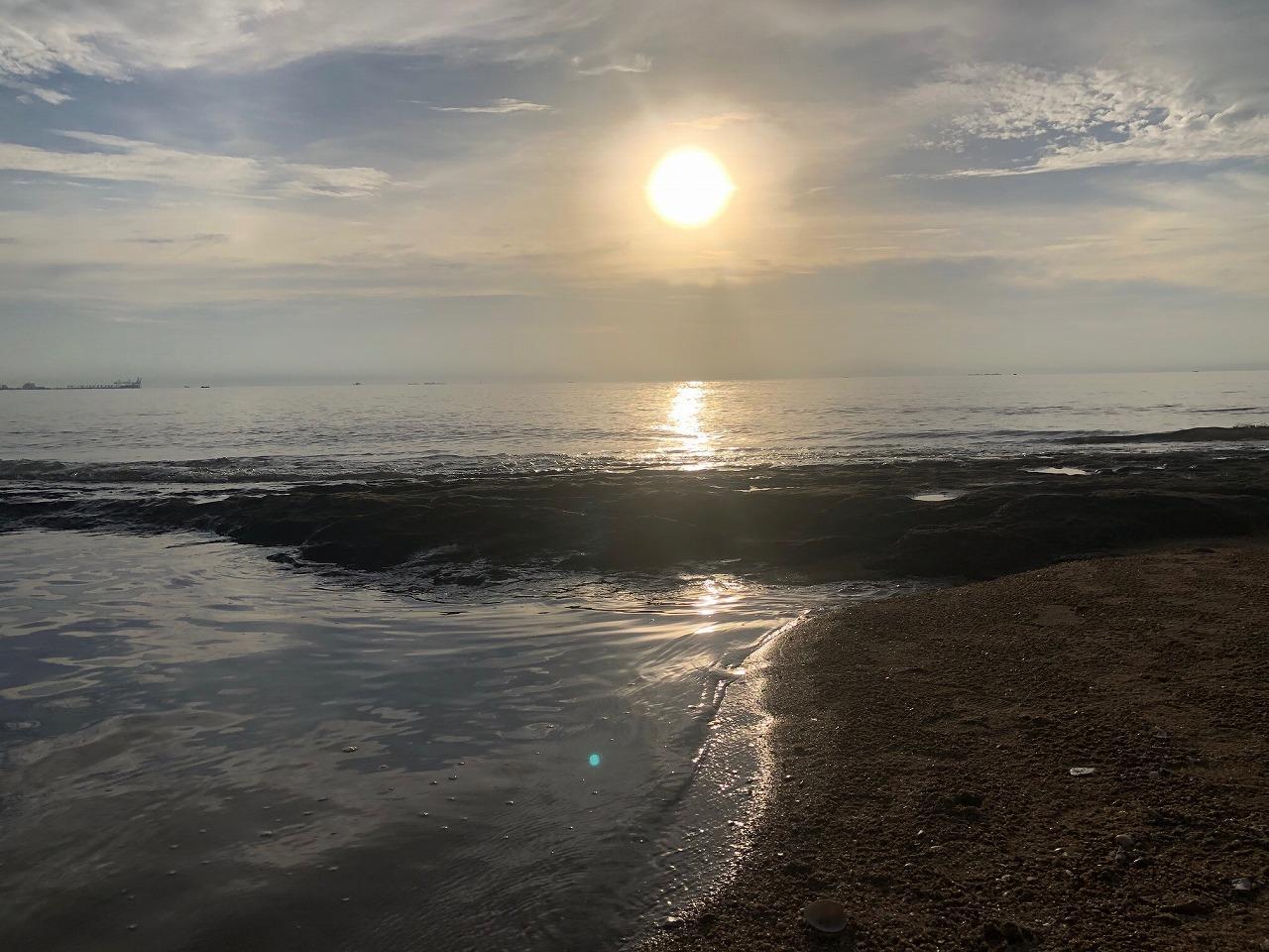 マカッサルの海岸