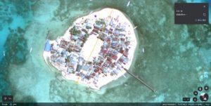 ボネタンブ島全景